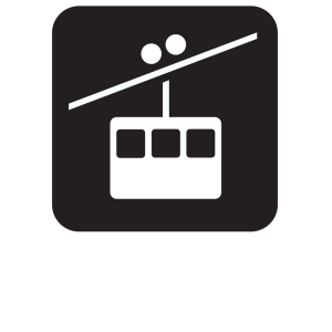 Tramway Tram Way Black icon png