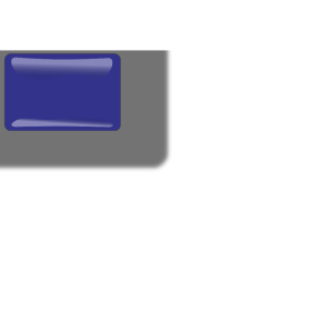 Dark Blue Rectangle icon png