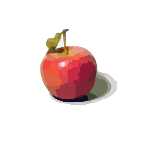 Apple Red Cartoon icon png