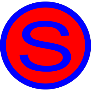 Letter S icon png