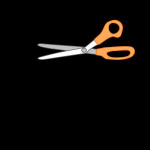 Artwork Paintbrush Scissors And Glue icon png
