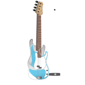 Bass-guitar icon png