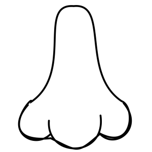 Nose icon png