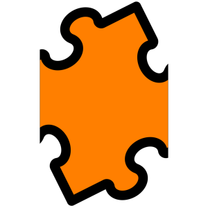 Jigsaw Blue Puzzle icon png