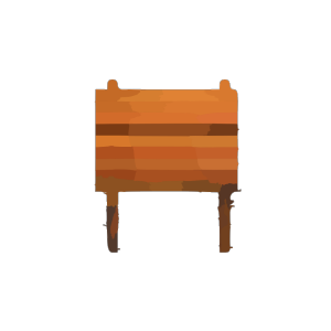 Collapsible Wooden Table icon png