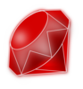 Blue Cut Gemstone (saphire) icon png