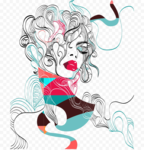 Abstract Woman PNG Free Download icon png