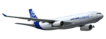 Airbus PNG Transparent HD Photo icon png