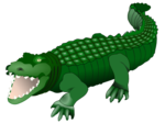 Alligator PNG Transparent Picture icon png