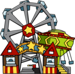 Amusement Park Transparent Background icon png