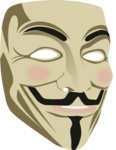 Anonymous Mask PNG Transparent Photo icon png