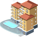 Apartment Transparent PNG icon png