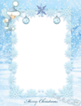 Aqua Border Frame PNG File icon png
