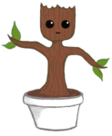 Baby Groot PNG File icon png