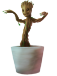 Baby Groot PNG HD icon png