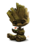Baby Groot Transparent PNG icon png