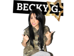 Becky G PNG File icon png