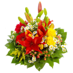 Birthday Flowers Bouquet PNG Image icon png