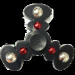 Black Fidget Spinner Background PNG icon png