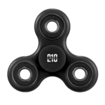 Black Fidget Spinner PNG Free Download icon png