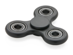 Black Fidget Spinner PNG Pic icon png