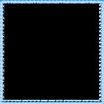 Blue Border Frame PNG File icon png
