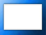Blue Border Frame PNG Free Download icon png