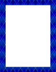 Blue Border Frame PNG Pic icon png