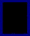 Blue Border Frame PNG Transparent Image icon png