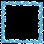 Blue Border Frame Transparent PNG icon png