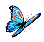 Blue Butterfly PNG icon png