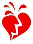 Broken Heart Transparent PNG icon png