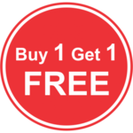 Buy 1 Get 1 Free Background PNG icon png