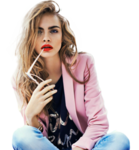 Cara Delevingne PNG Free Download icon png
