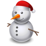 Cartoon Snowman PNG icon png