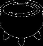 Cauldron Transparent Background icon png