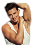 Channing Tatum Transparent Background icon png