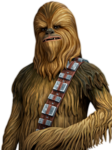 Chewbacca Transparent Background icon png