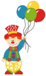 Clown Transparent Background icon png