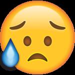 Crying Emoji PNG Transparent Image icon png