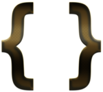 Curly Brackets PNG Transparent Image icon png