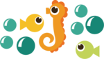 Cute Seahorse PNG HD icon png