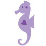 Cute Seahorse Transparent Background icon png