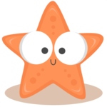 Cute Starfish PNG Photo icon png