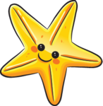 Cute Starfish PNG Transparent Image icon png
