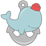 Cute Whale PNG Picture icon png