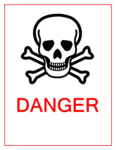Danger Sign PNG Image icon png