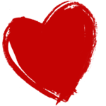 Dark Red Heart PNG HD icon png