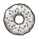 Donut PNG Transparent icon png
