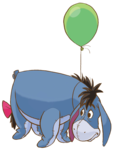 Eeyore PNG File icon png